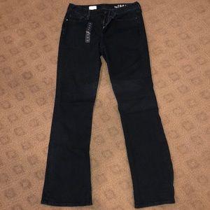 Brand New! Gap Perfect Boot Cut Dark Denim Jeans